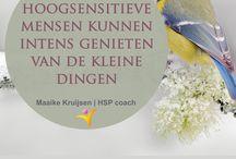 HSP coach | Maaike Kruijsen / Citaten en info hoogsensitiviteit (HSP)