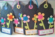 Gift Bag tags / by Elizabeth Fineman
