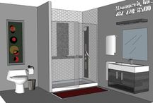 BATHROOM: 9x10 / In SEARCH of a free design?  Send Info to Marmotech, Inc at Facebook or Marmotechpr@gmail.com