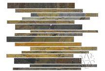 California Gold Slate Tile / Hardness: Medium Sealer:Recommended Application: Inside Walls, Inside Floors