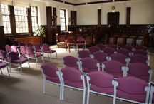 Town Hall ceremony rooms / Take a look at how our ceremony rooms are set up for weddings.