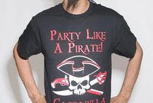 Gasparilla / Here be arrrrrr collection of Gasparilla Parade products we carry at Pirate Fashions