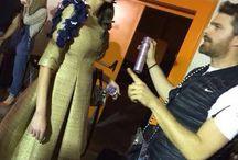SadhuHair at MadWalk (Backstage) / Sadhu Hair responsbile for Dimitris Petrou Catwalk act