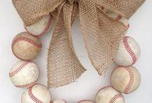 Burlap Baseball