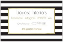 Lioness Interiors / My skills and capabilities are strongly in line with what people are looking for when consulting with an Interior Designer. What is different is how I listen and hear you. What I like does not matter it is what like that does!