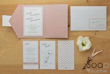 Wedding cards - Powder