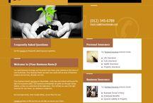 Tree shop website