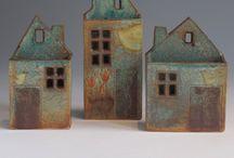 huisjes van keramiek