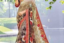 2635 Seasons lovely Georgette sarees