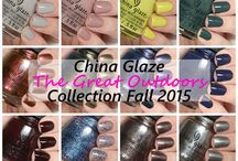 China Glaze Collections