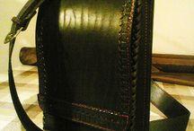 Авторские мужские сумки из натуральной кожи / Авторские мужские сумки ручной работы из натуральной кожи от московского мастера С.Ваграмова