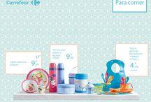 Bebé (27 de agosto - 20 de septiembre) / Todo lo que tu bebé necesita está al mejor precio en Carrefour: alimentación, textil, juguetes, higiene...