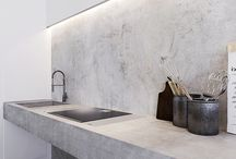 Kitchen decor / minimal abstract design