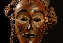 Masques d'Afrique.
