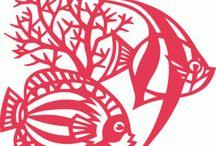 Рыбы, морские обитатели
