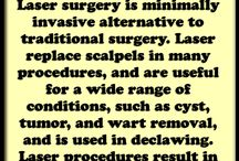 Laser Surgery / We Also Offer Laser Surgery
