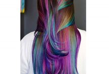 hair color violet style