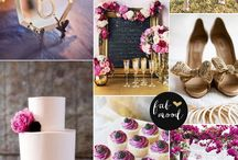 Radiant orchid June wedding