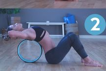 Yoga Wheel / What is a yoga wheel? How do I use it in my yoga practice? What are the benefits of using a yoga wheel? What size yoga wheel do I need? All the things yoga wheel!