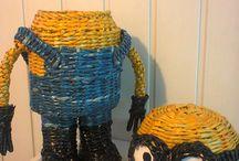 pletene detske postavicky z rulicek