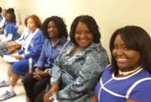 RECLAMATION / Members of Zeta Phi Beta Sorority, Incorporated who have rededicated themselves to the Sisterhood..