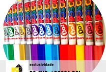 POSCA 1MD/DO! [0.7mm] / PC-1M DO! / 0,7mm / ponta calibrada MARCADOR COM TINTA À BASE DE ÁGUA. MULTIUSO  Delicado, dotado de uma ponta extra-fina calibrada, com reforço metálico, o modelo PC-1MR possui todas as qualidades de um marcador de tinta… sob a forma de uma esferográfica. Disponível numa extensa gama de cores, foi concebido a pensar nos artistas amadores e profissionais em busca de um traço ultra-fino e denso.