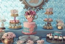 Alice in Wonderland / Party full of life and magical touches for the inner girl in you. A great theme for a whimsical wedding, bridal shower or children's party.