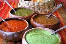 salsas  e molhos