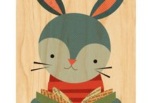 // Theme: Woodlands Toys + Decor // / Dapper foxes, clever rabbits, and burly bears: forest friend themed toys, gifts and decor from Petit Collage. / by Petit Collage/Lorena Siminovich