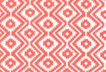 Michael Miller - Fiesta / Strong Aztec prints, bright and vivid colours