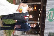 Florida Western Wedding