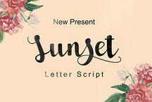 Sunset Script_Behance