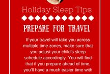 Holiday Sleep Tips for Kids / Ah, the holidays. It's the most wonderful time of the year…except when it comes time to get your children to bed. Not surprisingly, January is one of my busiest months! The days are shorter, nights are longer (and more exciting!), there are lights, activities, family get-togethers, and more. It's no wonder your children have sleep trouble this time of year!   Use my great tips to help keep your kids in a great groove (and mood!)