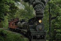 TRAINS&Railway STATIONS