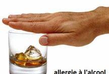 Allergie à l'alcool