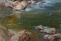 Artist Bill Davidson