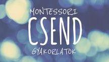 Montessori gyakorlatok