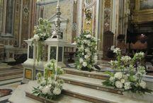MATRIMONI / Decoro chiese e location# matrimoni#wedding#sposa#