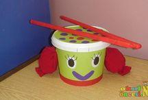 okul oncesi müzik aletleri