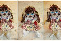 vintage rag dolls / Από Σεμινάρια με θέμα:                                                Διαχρονικές χειροποίητες πάνινες κούκλες με υπογραφή Ροή!