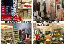 Boutique Store Displays /  Unique merchandise display's for Discover Earth