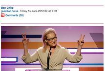 Meryl Streep / The most amazing human being living on earth.