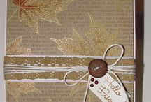 fall cards / by Patricia Metzgar