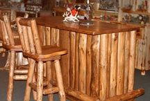 Man Cave Furniture / Here at Cabinfield we know everyone needs a space of there own.