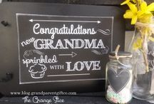 Gifts for New Grandmas & Grandpas! / Gifts celebrating new grandparents! Any new grandmother or grandfather would love!