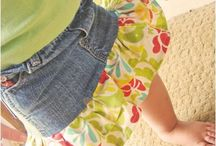 Upcycling clothes for kids / Ideas for upcycling clothing for my children.
