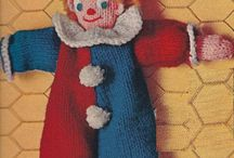 Vintage Toys & Stuffed Animals / Vintage Crochet, Knitting and Craft Patterns to make Toys and Stuffed Animals