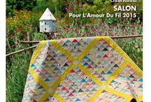 QUILTMANIA #108 / QUILTMANIA Magazine N°108 (July / August 2015) http://www.quiltmania.com/organisation/la-boutique.html