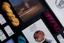 Amano brand identity / Amano brand identity. Yarn love. Alpaca. DIY.