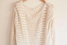 Crochet tops/jackets